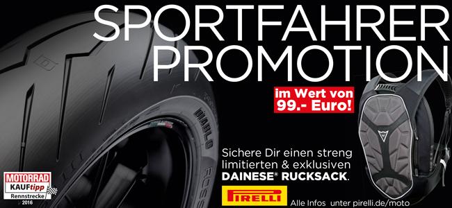 Pirelli Sportfahrer Promotion - Fr?hjahrspromotion Reifen Weichberger