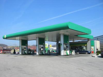 Reifen Weichberger BP Tankstelle Wieselburg