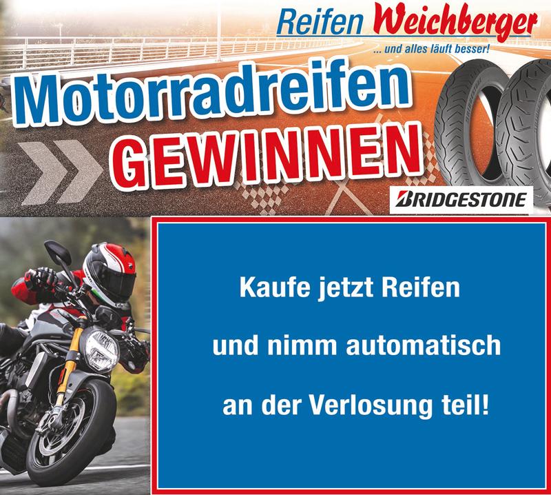 Motorradreifen gewinnen